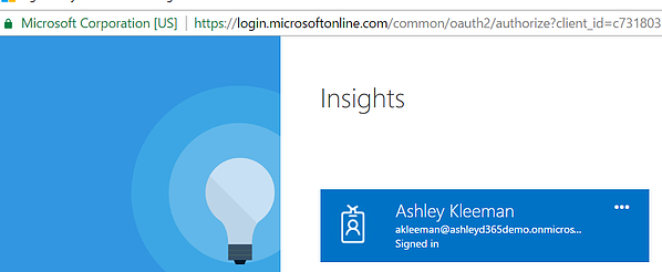 Log in to Insights