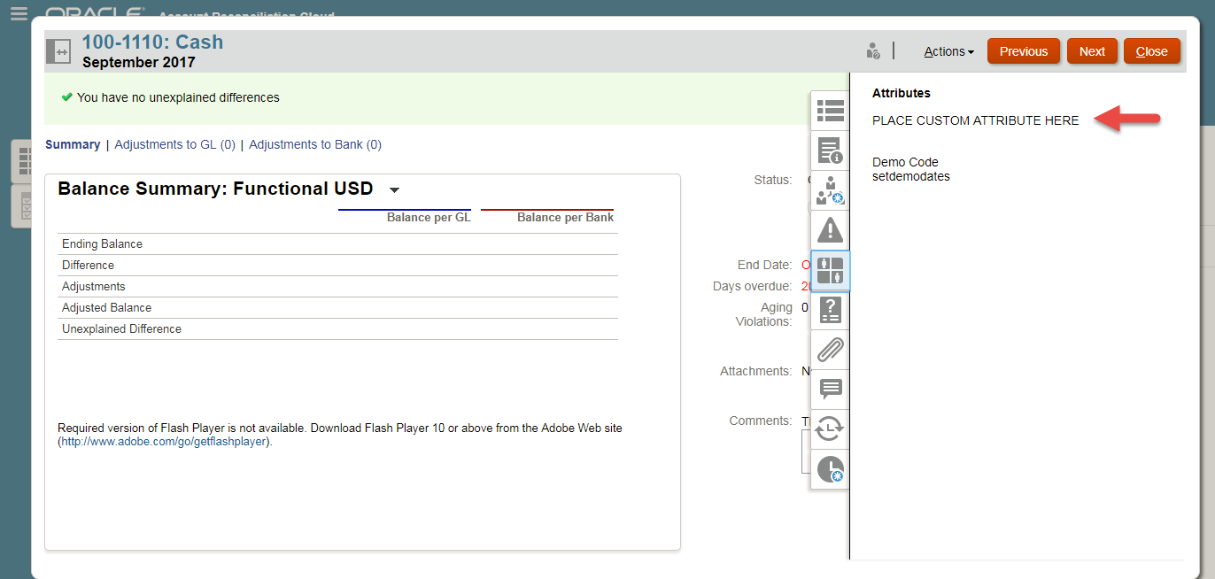 New Scope in Account Reconciliation Cloud Service (ARCS) - Add-Ons 2