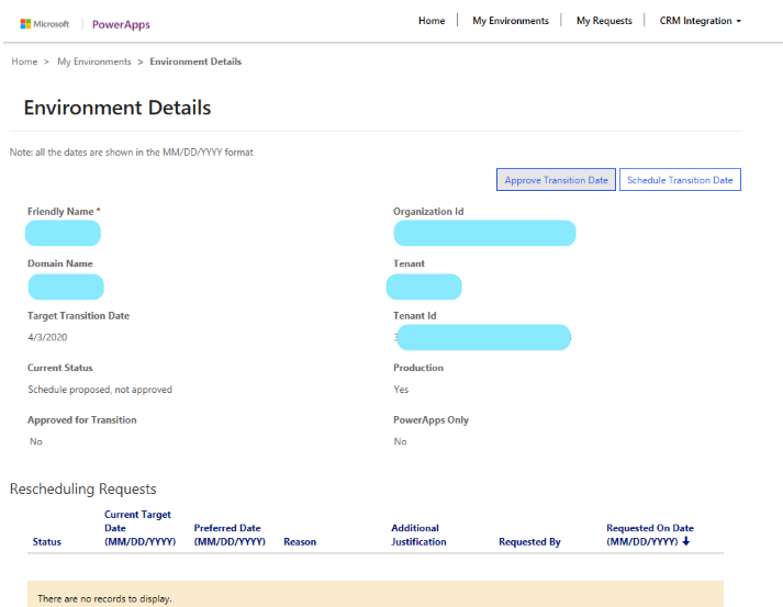 Dynamics CRM new User Interface transition