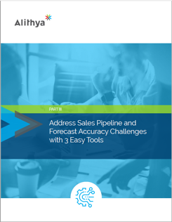 address sales pipeline and forecast accuracy challenges with 3 easy tools - miniature