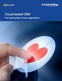 How to use a cloud based CRM for your business eBook cover