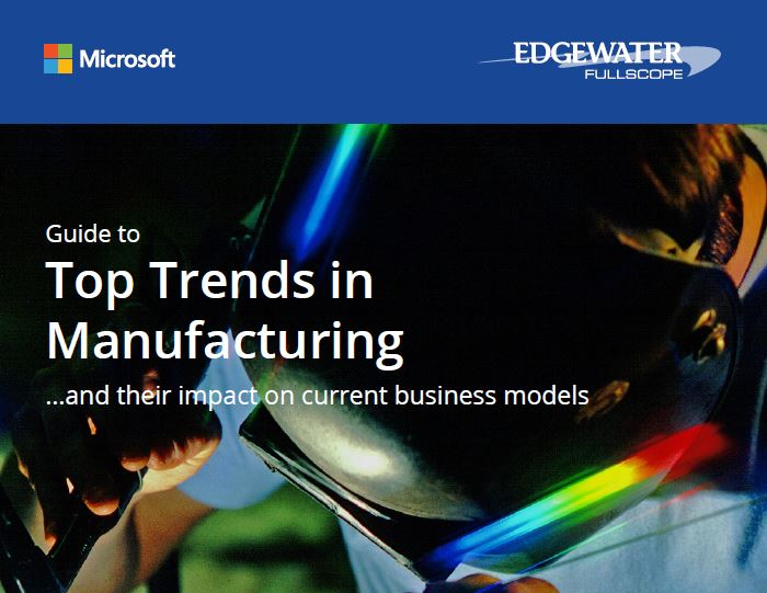 UK Guide to top trends in manufacturing front page