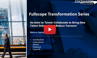 Fullscope Transformation Series - An Intro to Talent