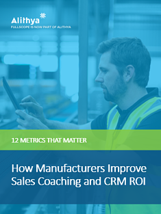 How Manufacturers Improve Sales Coaching and ROI iPad