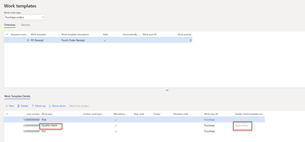 Dynamics 365 Finance and Operations: Quality Checks at Receipt